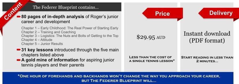 The federer blueprint no ordinary roger federer biography please malvernweather Image collections